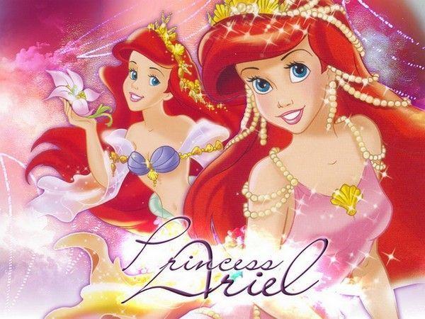 Fond ecran princesse ariel - Princesse de walt disney ...