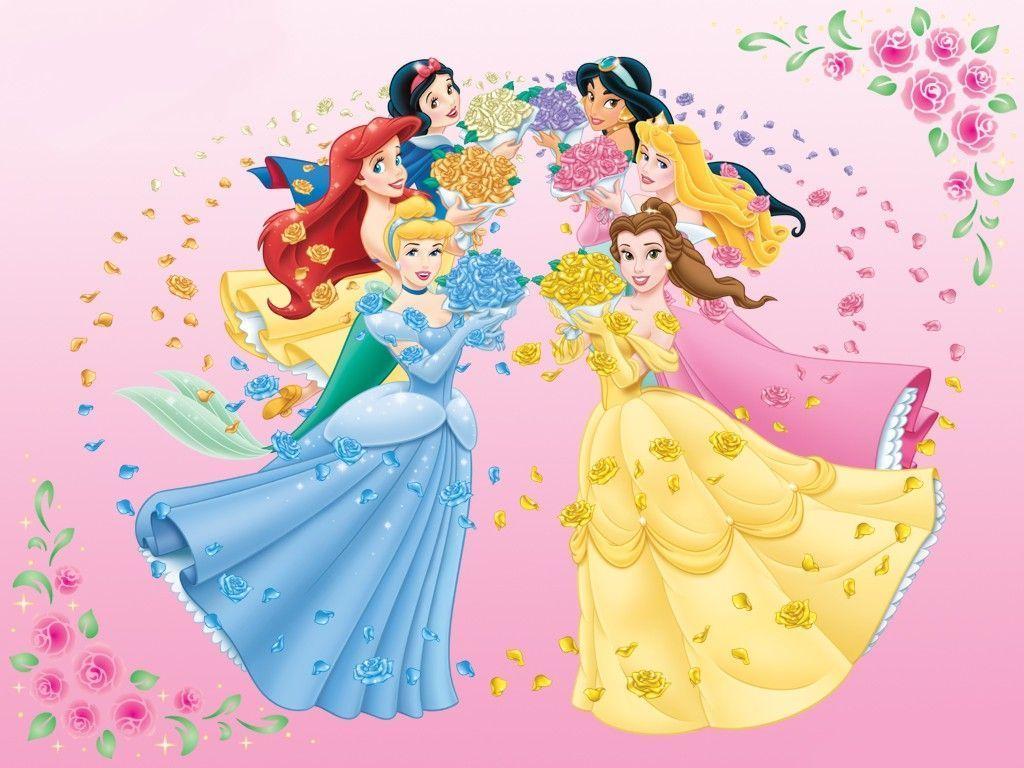 Fond d'ecran-princesses disney